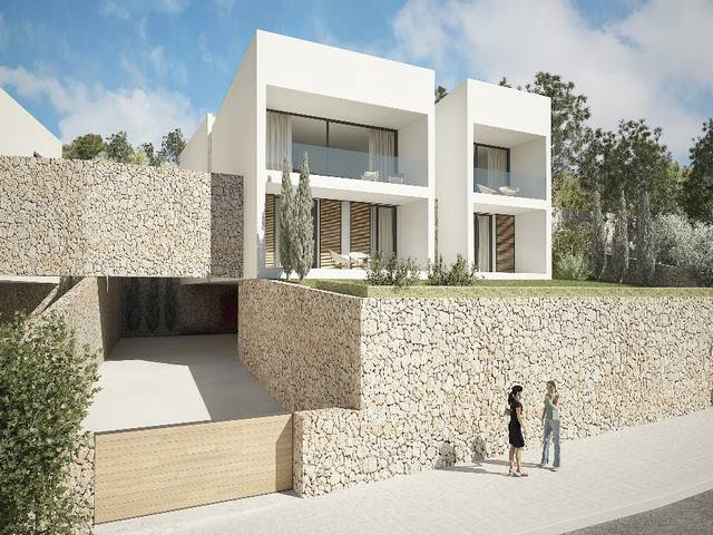 Villa construction project with personalisation potential in the countryside near Alaró