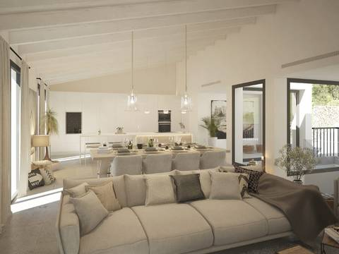 ALA40356 Luxurious project commanding excellent views of central Mallorca in Alaro