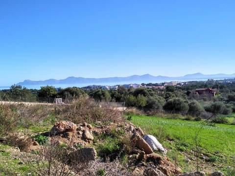 ALC0373 Plot with sea views in the North of Mallorca