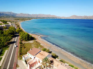 Plot very close to the sea within walking distance to Alcudia town centre