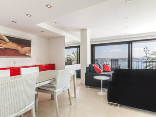 Modern apartment with spectacular sea views in a fantastic location in Puerto Alcúdia