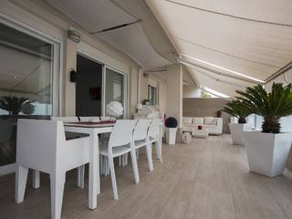 Contemporary penthouse apartment within a few minutes walk to the sandy beach, Puerto Alcudia