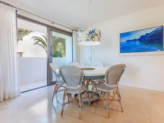 Luxury seafront apartment on the ground floor with amazing views over the bay of Alcúdia