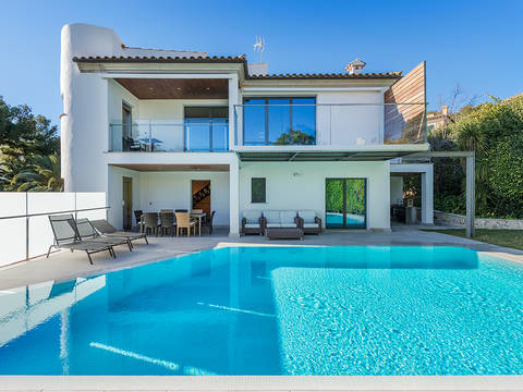 ALC40357AUC4 Contemporary villa with sea views, in walking distance to the beach in Alcanada