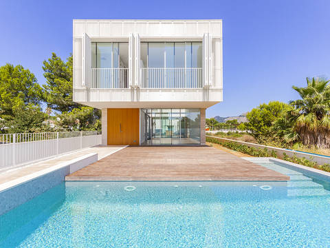 ALC40546 Brand new 3 bedroom villa, close to the local beaches in Alcudia
