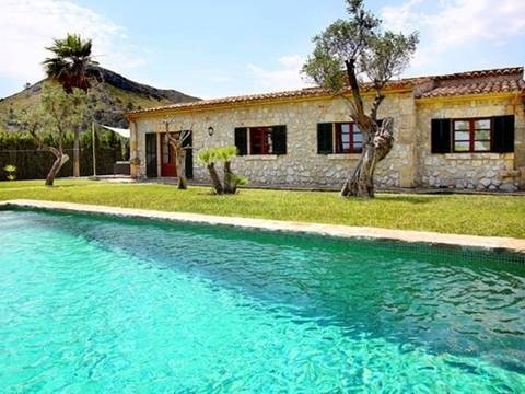 ALC4283POL5 Country house with pool for sale in a stunning location between Alcudia and Pollensa