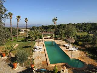 Exceptional country home for sale in Alcudia with sea views