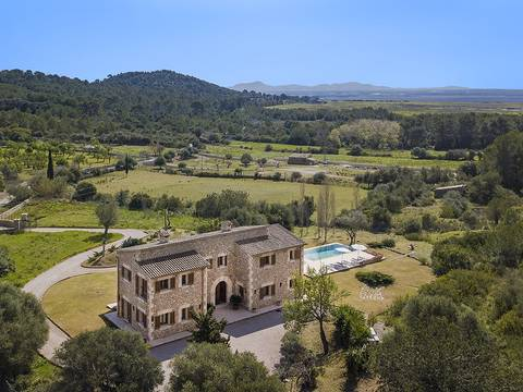 ALC5922POL5 Lovely stone finca for sale with impressive outdoor area in Son Fé