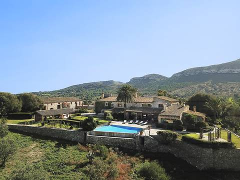ALC5969CSP5 Stunning sixteenth century finca with sea views near Colonia de San Pere