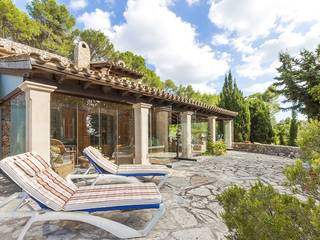 Plenty of privacy on magnificent Finca near Port Alcudia