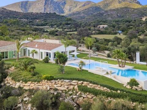 ART52501 One of a kind contemporary country home with stunning design and sea views near Arta