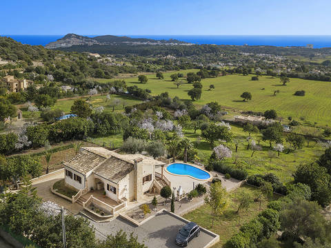 ART5CAR50058 Country property with panoramic views over to the sea near Cala Ratjada and Capdepera