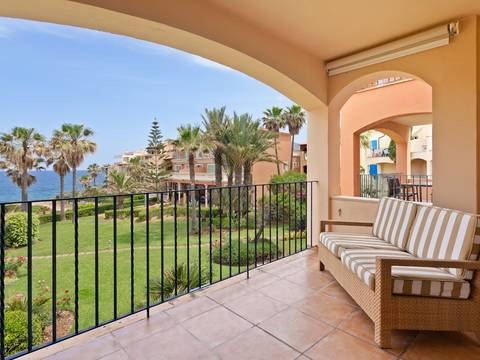 BET11702 Sea front first floor apartment for sale in Betlem, Mallorca