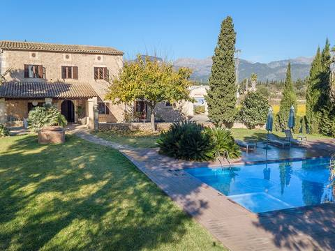 BIN52430 Charming country estate with touristic rental license and vineyard in Binissalem
