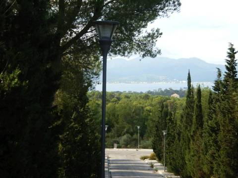 BON0110 Plot with building licence and project in Alcudia close to the sea