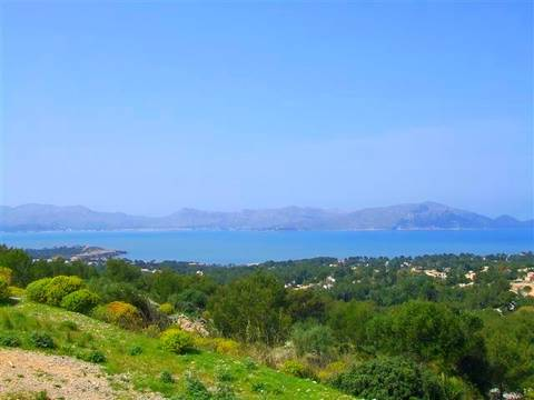 BON0222POL0 Plots with permits and sea views for sale in an exclusive area in the north of Mallorca