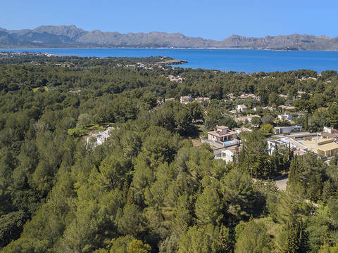 BON0381 Southfaced land for sale in Bonaire, realize your dream home in Mallorca