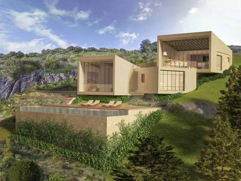BON0476B Building plot with sea views in an exclusive location in the northern region of Mallorca
