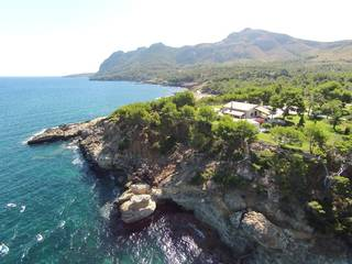 Magnificient coastal estate in Bonaire with gorgeous views of the Pollensa Bay