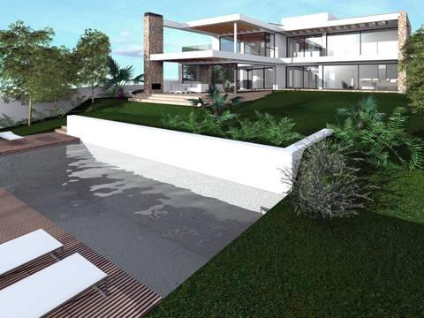 BON40087 Great investment opportunity: Project for stunning villa with sea views