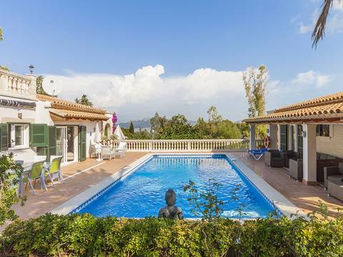BON40116 Attractive villa with separate guest house and partial sea views in Bon Aire, near Alcudia