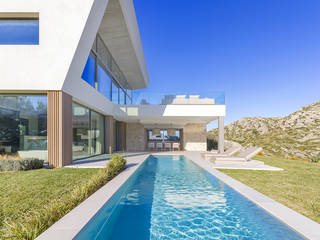 Spectacular luxury villa with panoramic bay views in Bon Aire