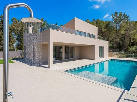 BON40405 Brand new four bedroom villa with sea views in an exclusive location in Mal Pas-Bon Aire