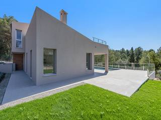 Brand new four bedroom villa with sea views in an exclusive location in Mal Pas-Bon Aire