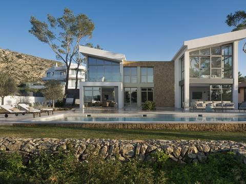 BON40465RM State-of-the-art villa in a peaceful and exclusive area of Bonaire near Alcúdia town