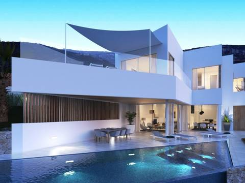 BON40484 Exclusive 3-bedroom villa project with infinity pool and mountain views in northern Mallorca