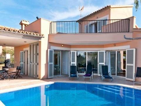 BON4488POL4-3 The villa is an unit of a development in Bonaire - Alcudia - Balearic Islands. An exciting development opportunity for 7 new build detached villas.