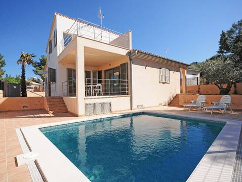 BON4558POL4 Brand new villas in the quiet and lovely residencial area of Paraiso de Bonaire, Alcudia