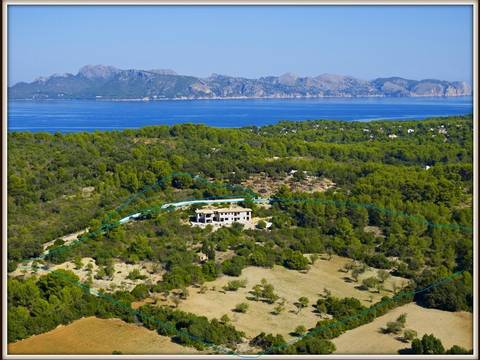 BON5555POL5 Villa for sale in Mallorca.