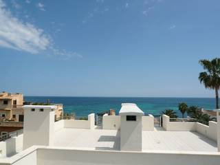 Apartments in second line with fabulous sea views located in the north-east of Mallorca