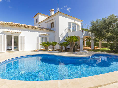 CAD40567 Spacious villa with private pool, close the the beach in Cala d´Or