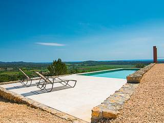 Exceptional country home with sea views and private pool in Son Carrió