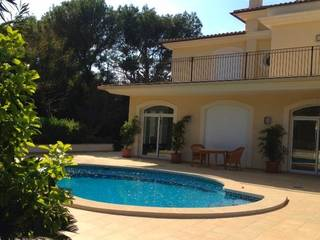 Peaceful mediterranean Villa for sale with partial sea view, Santa Ponsa