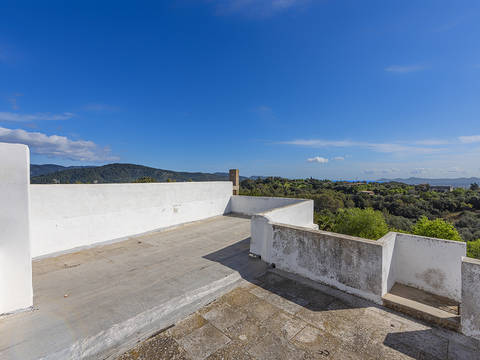 CAM20389 Large town house with fantastic views of the village and mountains in Campanet
