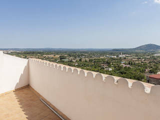2 bedroom apartment with parking in private garage and spectacular views in Campanet