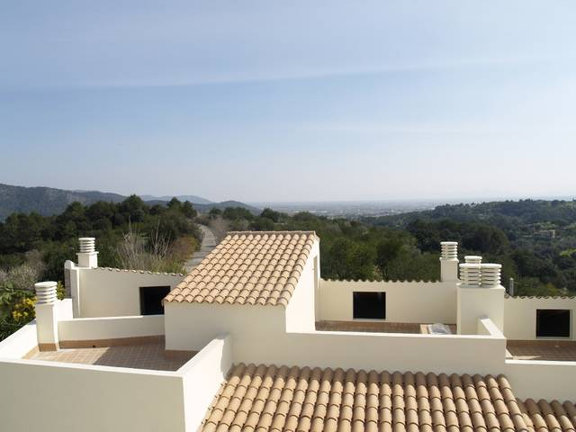 Superb townhouses for sale in Campanet with great views