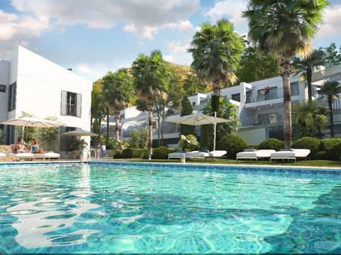 CAN11708B Brand new apartments in an exclusive gated community near the beach on the east coast