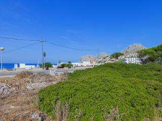 Great plot with building permission and sea views in Cala San Vicente, near Pollensa