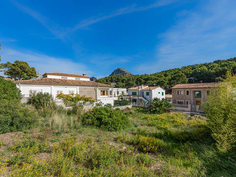 CAV0519 Plot with project near the beach in Cala San Vicente