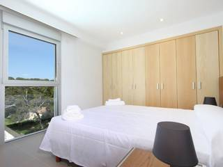 Ground floor apartment with sea views, seconds from the beach in Cala San Vicente