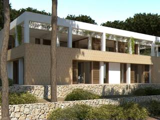 Modern villa for sale near the sea in a quiet area in the north of Mallorca