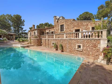CDP40268ART5 Fantastic villa in rustic style within walking distance to the sea in Costa de los Pinos