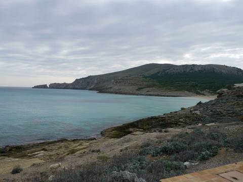 CM0LF9175 PLOT WITH SEA VIEWS IN CALA MESQUIDA, MALLORCA.