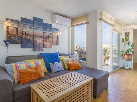 CPF11796 One bedroom apartment with views of the sea in Can Picafort