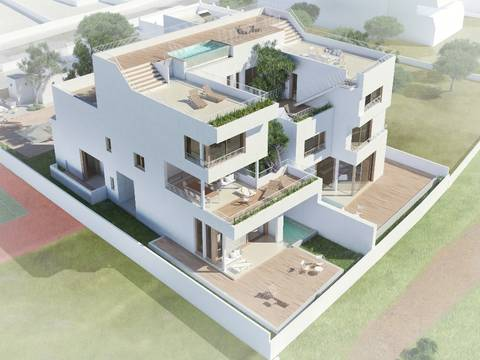 CSJ40191-A New high quality development with sea views in the southeast of Mallorca