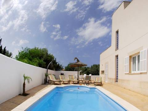 CSP4LF910210 Detached house with pool and 3 bedrooms in the charming seaside resort Colonia San Pere